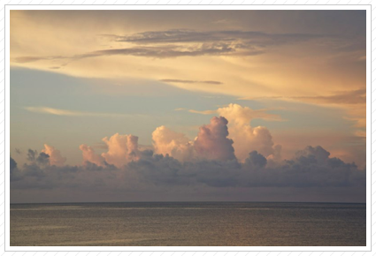 Morning Cloud Bank, Key West ©